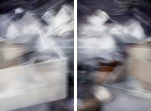 For All Tomorrow's Parties (diptych) 2012 digital print edition of 5 72 x 107.5cm
