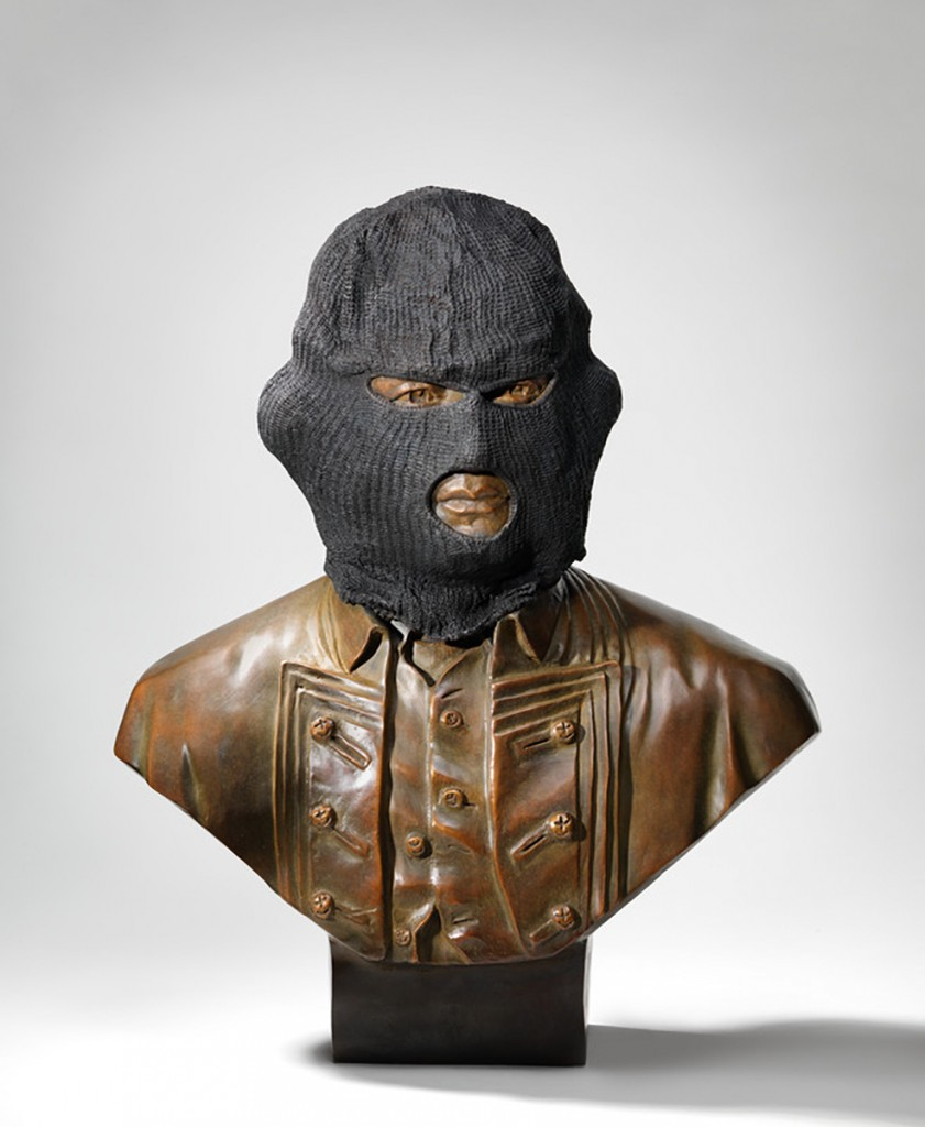 Jason Wing, Captain James Crook, 2013, Bronze, Edition of 5, 60 x 60 x 30cm. Photo credit: Garrie Maguire.
