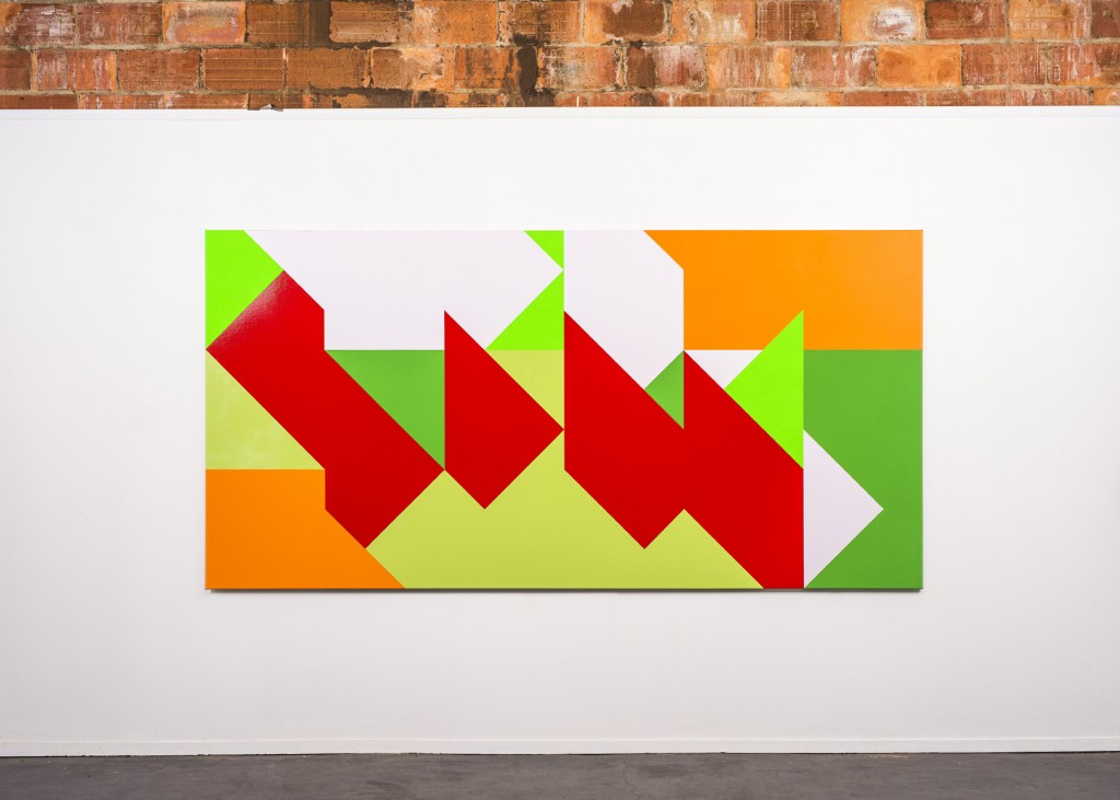 lawrence white_max_untitled 2_2019_acrylic and enamel on linen_135cm x 270cm_1200h