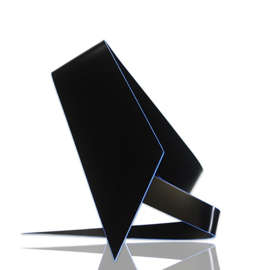 Yioryios Papayioryiou, CHROMA 10: Cobalt Blue, 2019, Aluminium, Automotive Paint & Synthetic Polymer, 48 x 69 x 44cm.